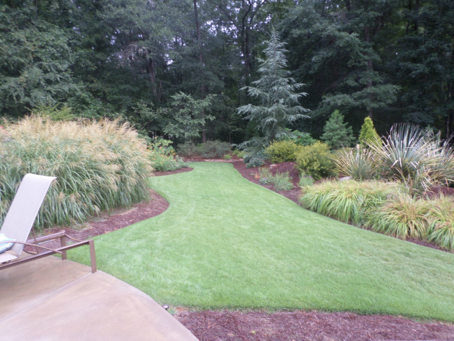 Gardens South Landscape Design, Athens, GA poolscape